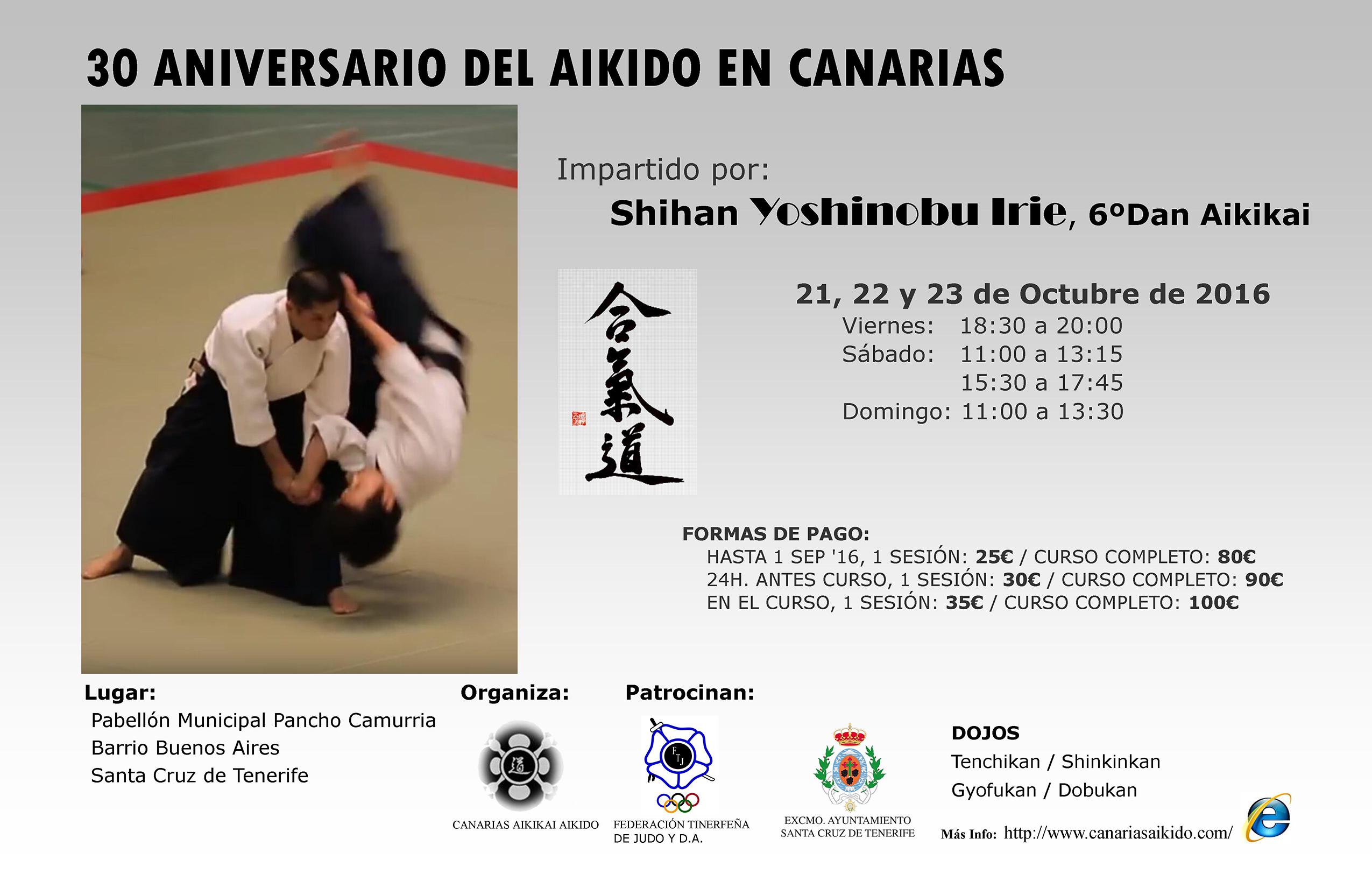 30 Aniversario Aikido en Canarias